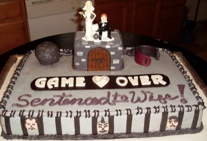 wedding-cake-for-gamers-game-over